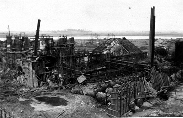 Mawag zerstört, 1944